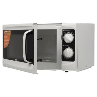 MYSTERY MMW-1706 microwave oven, 17 litres, 800 watt power, mechanical control, timer, white