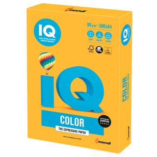 Paper, A4, 80 g/m2, 500 sheets, neon, orange