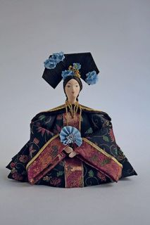 Doll gift. The Empress of the 19th century, China