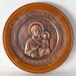 Panel Virgin of Smolensk