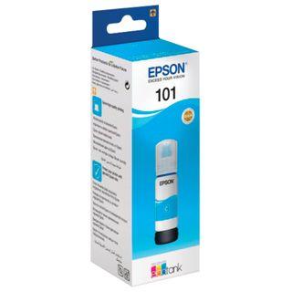 EPSON ink (T03V24), for CISS, L4150 / L4160 / L6160 / L6170 / L6190, cyan, 70 ml, ORIGINAL