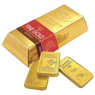 "MONETNY YARD / Portion chocolate ""Gold standard"", ingot, 6 bars of 10 g, 60 g"
