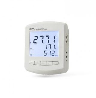 Рэлсиб / Измеритель-сигнализатор температуры, влажности и концентрации CO2 EClerk-Eco-RHTC-0-0-0