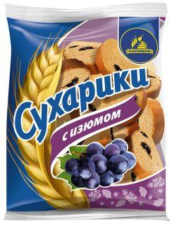 "Crackers ""Neva"" with raisins"