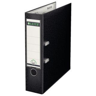 Folder-Registrar LEITZ, the mechanism 180°, coating plastic, 80 mm, black