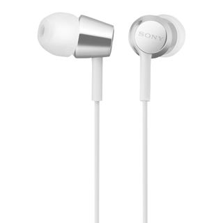 SONY / Headphones MDR-EX155AP, wired, 1.2 m, in-ear, stereo, white