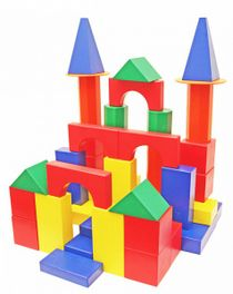 DESIGNER OUTDOOR oversized'Builder' - color 78 parts (2 boxes ) for children from 3 years