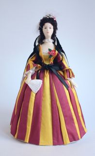 Doll gift. Costume the End of the 18th century. Saint-Petersburg.