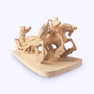Bogorodsk toy / Composition