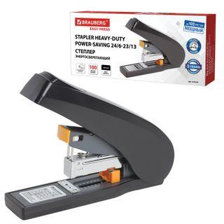 POWERFUL energy SAVING stapler NO. 24/6-23/13 BRAUBERG