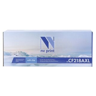 Toner cartridge NV PRINT (NV-CF218AXL) for HP M104a / M104w / M132fn / M132nw, yield 3500 pages