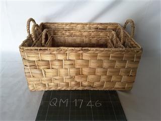 Wicker basket for children's toys, 3 pcs