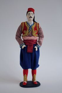 Doll gift. Men's styled suit. Croatia