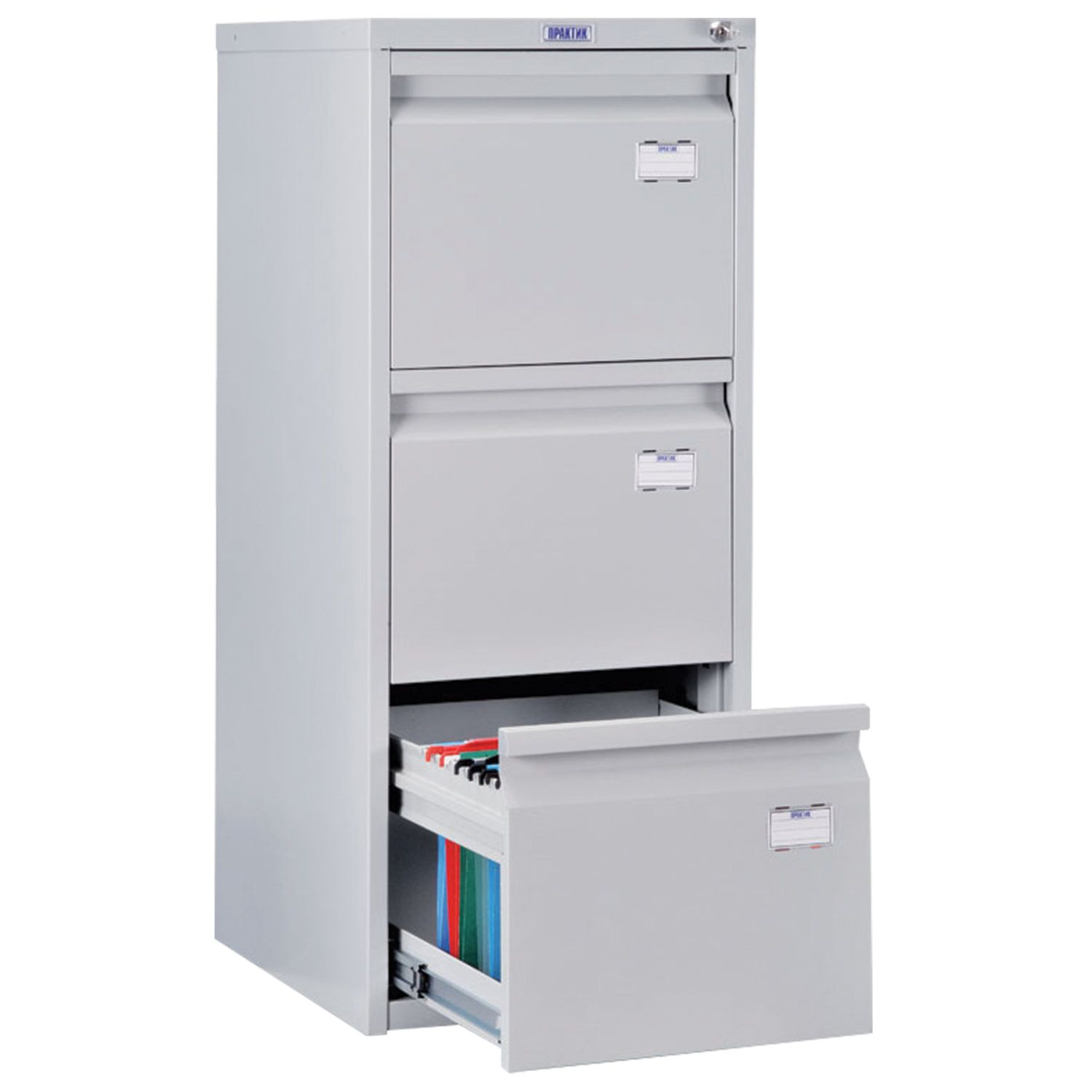 A-43 card cabinet, 995 x408 x485 mm, 3 boxes for 126 hanging folders, A4 folder format (NO FOLDERs)