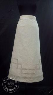 Skirt womens linen С11732