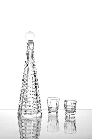 "Crystal decanter ""Gothic"" colorless 470 ml"
