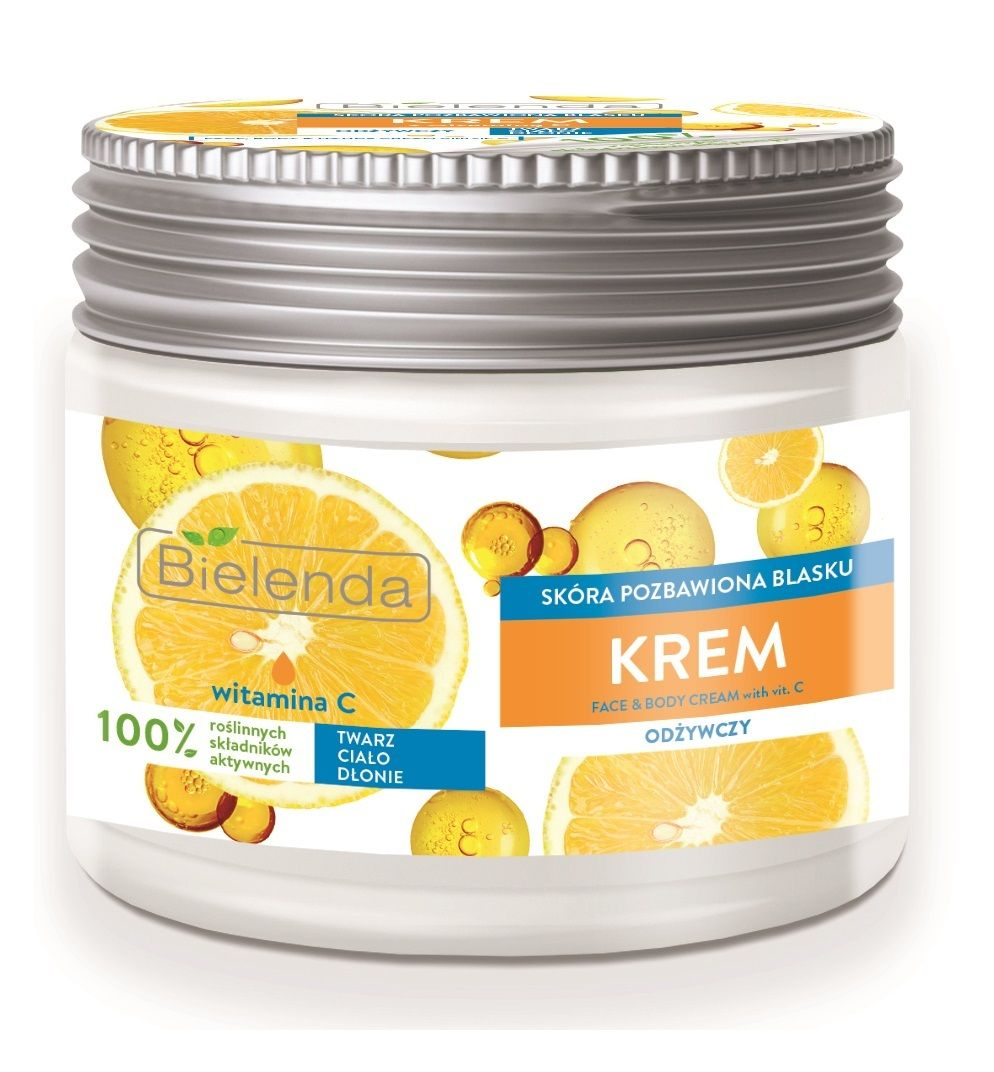 Universal cream for face and body - nourishing Vitamin C, BIELENDA , 200ml