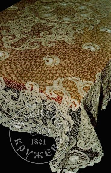 Yelets lace / Lace tablecloth С711