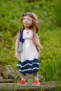 Zwergnase / Кукла Miss July