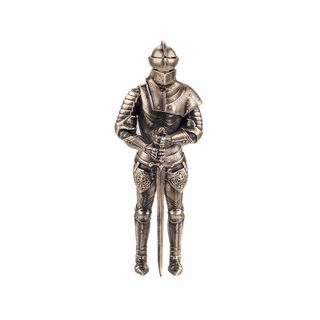 "A statuette ""a Medieval knight"""