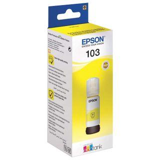 EPSON ink (C13T00S44A) for CISS EPSON L3100 / L3101 / L3110 / L3150 / L3151 / L1110, yellow, ORIGINAL