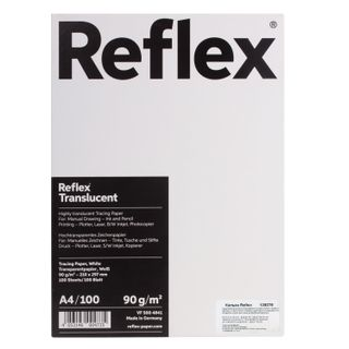Tracing paper REFLEX A4 90 g/m, 100 sheets, Germany, white