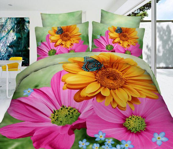 Satin bed linen 3D Angelica