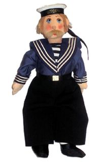 Doll gift. Sailor