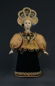 Girl in traditional costume (styling).Russia. (option # 0283) Doll gift