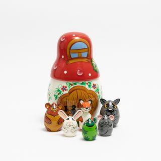 The souvenir box on the fairy tale