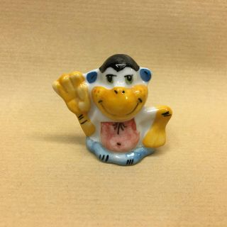 "Figurine porcelain ""Monkey"""