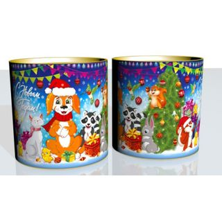 """New Year's gift Tuba """"Holiday"""", a set of sweets 450g."""