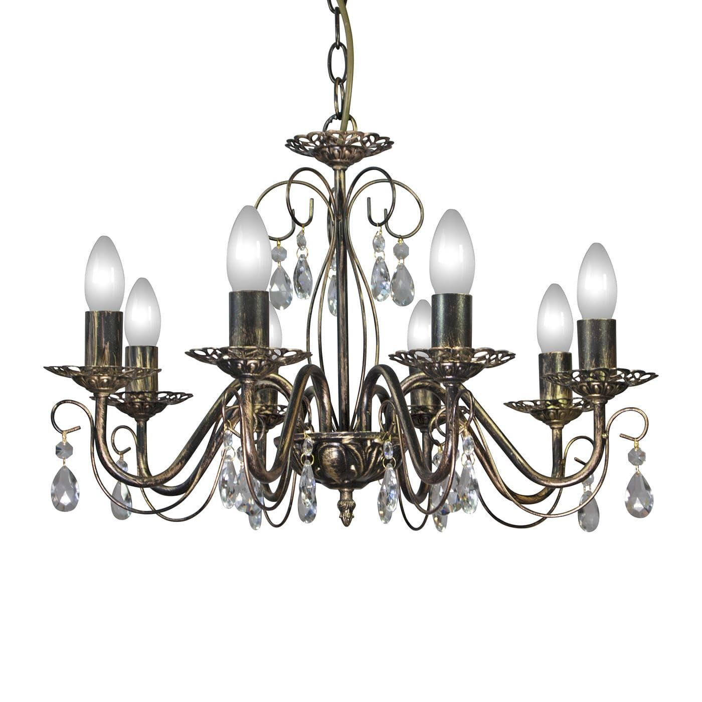 PETRASVET / Pendant chandelier S8067-8, 8xE14 max. 60W