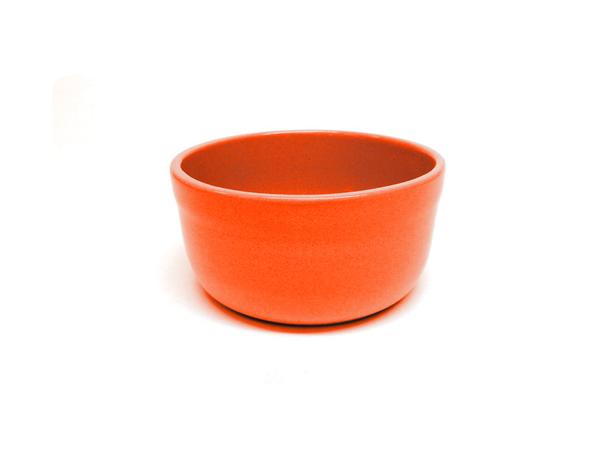 """Vyatka ceramics / Set of containers """"Julia"""" 0.2 l, 10 pcs. (Orange)"""
