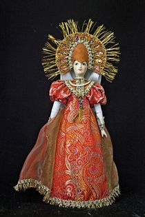 Doll gift porcelain. The Princess Of The Sun. Fabulous image.