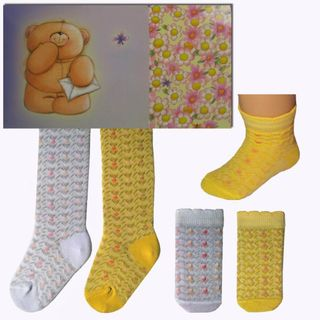 Set of children's (pantyhose + socks) for girls