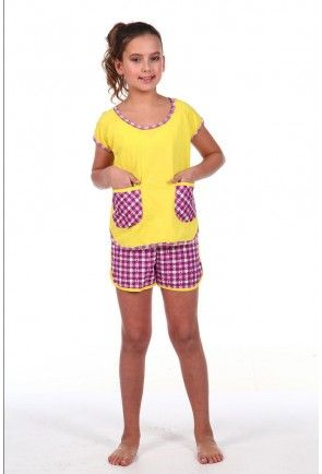 Teenage Knitted Pajamas for Girls