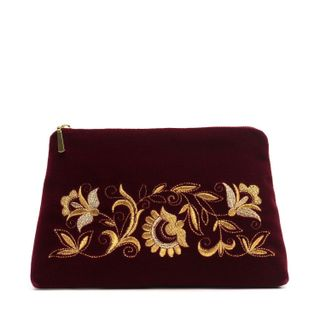 "Velvet cosmetic bag ""Dreams"""
