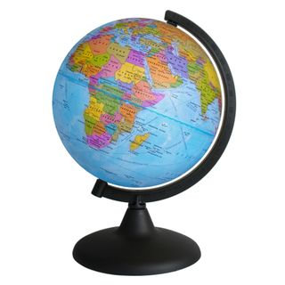 Political globe with a diameter of 200 mm