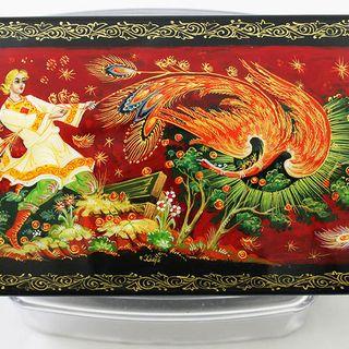 Kholuy art varnish miniature Firebird