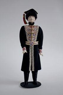 Kalmykia, men's suit. Doll gift