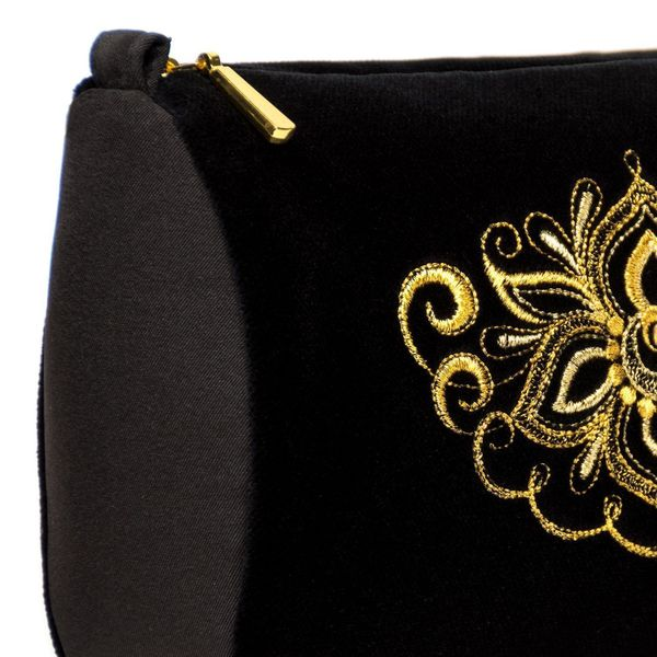 Velvet cosmetic bag 'Game'