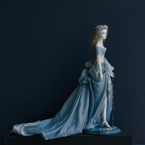 "Handmade porcelain doll ""Efira"", author Svetlana Barysheva"