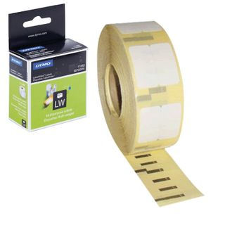 DYMO Label Writer cartridge for label printers, label 25x13 mm, roll, 1000 pcs / roll, removable, white