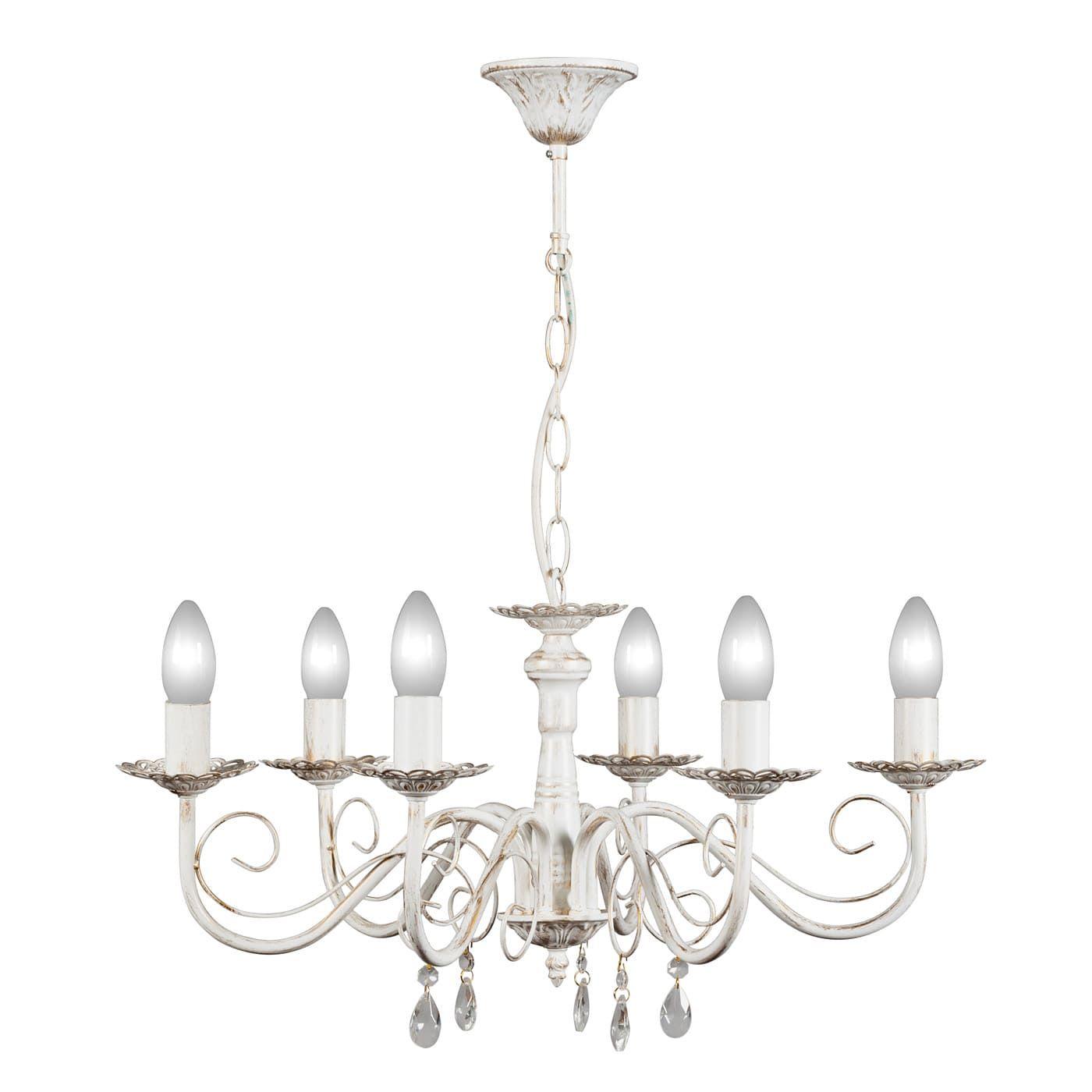 PETRASVET / Pendant chandelier S1019-6, 6xE14 max. 60W