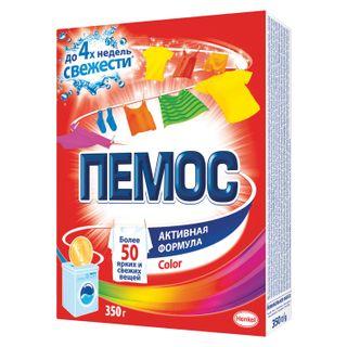 """Automatic washing powder PEMOS Color """"Active formula"""" 350 g"""