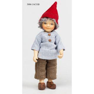 Birgitte Frigast / Porcelain doll Jacob, 15 cm