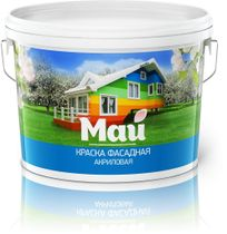 "Facade paint ""May"""
