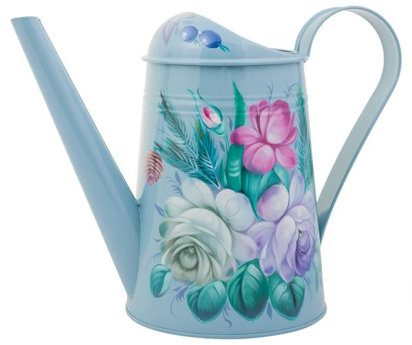 Zhostovo / Watering can steel 2.6 l., Author Pichugina L.