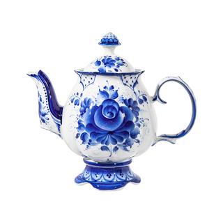 Set the Flower - work of authorship, Gzhel Porcelain factory